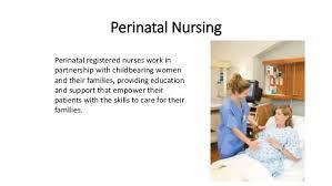 Perinatal Nurse Perinatal Care