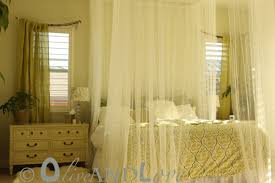 Sheer Bedroom Curtains Canopy Bed Curtains Drapes