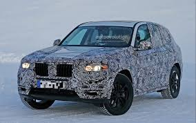 BMW 5 Series how much are bmws in germany : BMW X3 Spyshots Reveal a Bigger Body for the German SUV ...