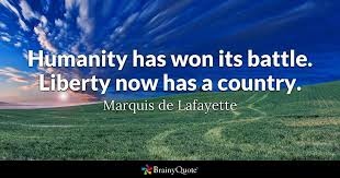 Revolutionary War Quotes Custom Marquis De Lafayette Quotes BrainyQuote
