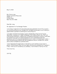 Best Ideas Of Unsolicited Cover Letter For Accounting Position