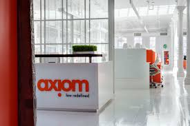bhdm design creates fun and funky offices for axiom law axion law offices bhdm