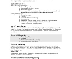 Creating A Resume For Free Resume Template