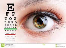 Vision Chart For Driver S License Eye Test Stock Photo Image Of Focus Opthalmology