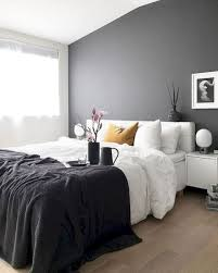 dark grey wall bedroom ideas