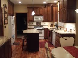 Kitchens With Dark Cabinets And White Appliances Dark Cabinets