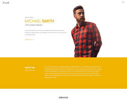 Resume Website Template 100 Popular HTML Resume CV Website Templates 20100 Colorlib 37
