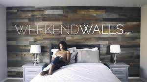 weekend walls l and stick wood paneling