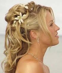 Half Ponytail Hairstyles Wedding Hairstyles Ideas Curly Half Up Beach Wedding Hairstyles
