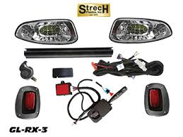 new golf cart accessories strechplastics com Ezgo Rxv Wiring new gl rx 3 ezgo rxv full led street legal super deluxe light kit with plug in wiring ezgo rxv wiring diagram