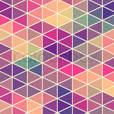 Banner Patterns Custom Retro Pattern Of Geometric Shapes Colorful Mosaic Banner Geometric