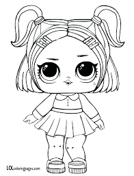 Coloring Pages Lol Doll Coloring Pages Surprise Dolls Print Out