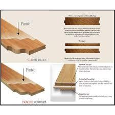 hardwood flooring solid vs engineered construction