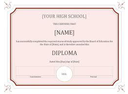 Kindergarten Diploma Certificate Template 3 Free Printable