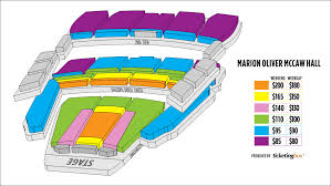 Mccaw Hall Seattle Seating Chart Seattle Marion Oliver Mccaw Hall Seating Chart