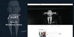 Wordpress Resume Theme Resume Theme Miscellaneous Personal Resume