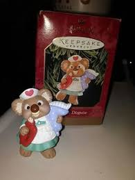 Hallmark Angel in Disguise 1999 Koala Nurse Ornament