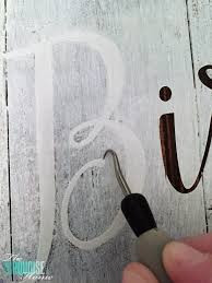how to paint letters on wood signs photos