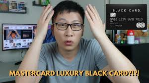 Luxury Black Card 495 Af Mastercard Review Buy A Rolex Instead