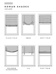 roman shades styles. Perfect Roman Roman Shade Style Guide With Shades Styles O