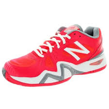 new balance womens tennis shoes. new balance women\u0027s 1296 coral pink with white and grey tennis shoe womens shoes