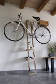 ... Decoration:Bike Wall Shelf Double Bike Rack Wall Cycle Wall Storage How  To Hang A ...