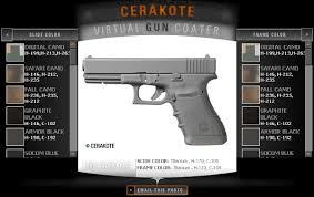 Cerakote Color Chart Cerakote Lets You Play Chameleon Daily Bulletin