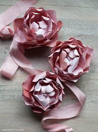 Peony Paper Flower Diy Paper Peony