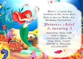 Mermaid Invites Mermaid Party Invitations With Winsome Party