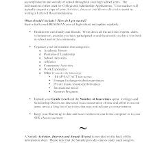 Sample Of College Student Resume – Lespa