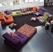 Colorful Living Room Furniture Sets Creative Unique Inspiration Design