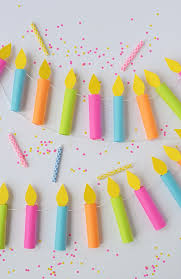 Diy Birthday Decorations Best 25 Birthday Candles Ideas Only On Pinterest Turning 21