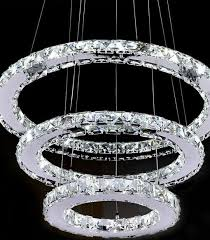 modern chandelier hot diamond ring led crystal