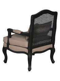french cane chair. French Cane \u0026 Linen Armchair - CENTURIA Chair