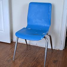 plastic school chairs. Turn A School Chair From Something Cheap To Sit On Piece Of Art With Plastic Chairs