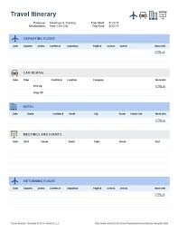 Business Trip Agenda Template Vacation Itinerary Template Business Travel Planner Growinggarden Info