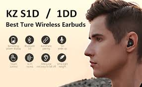 KZ S1D <b>Wireless Earphones</b> Yinyoo True <b>Wireless Earbuds TWS</b> ...