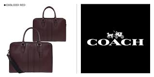 coach tote bag men s coach briefcases leather business bags f72309 red red 11 23