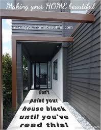 black weatherboard house