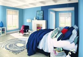 blue wall paint bedroom. Fine Blue Throughout Blue Wall Paint Bedroom T
