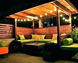 patio deck lighting ideas. Outdoor Deck Lighting Astonishing Decks Privacy Screen Ideas For Patio Backyard Pool Best