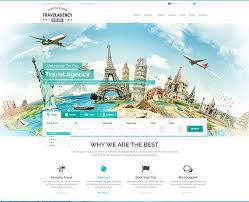 Travel Templates Travel Agency Website Templates Gridgum