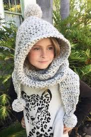 Free Hooded Scarf Crochet Pattern