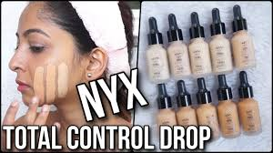 Nyx Foundation Color Chart Nyx Total Control Drop Foundation Review Swatches Of 10 Shades Stacey Castanha