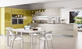 modern kitchen cabinets colors. Perfect Kitchen Chartreuse U0026 White Kitchen Color Scheme For Modern Cabinets Colors O