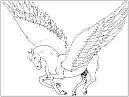 unicorn with wings coloring pages. Brilliant Unicorn Unicorn Wings Coloring Feat With Pages  In Unicorn With Wings Coloring Pages A