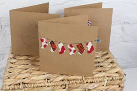 Diy Christmas Cards Diy Sewing Machine Christmas Cards Youtube