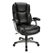 office leather chair. Realspace Cressfield High Back Bonded Leather Office Leather Chair