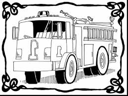 superb fire truck coloring pages printable with firetruck coloring ...