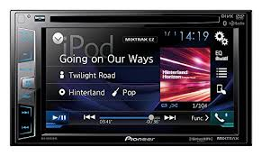 indash truck rv campervan and electronics pioneer avh x3800bhs in dash multimedia receiver featuring appradio one bluetooth hands calling audio streaming hd radio sirius xm ready and